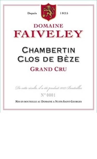 Faiveley Chambertin-Clos de Bèze 2017