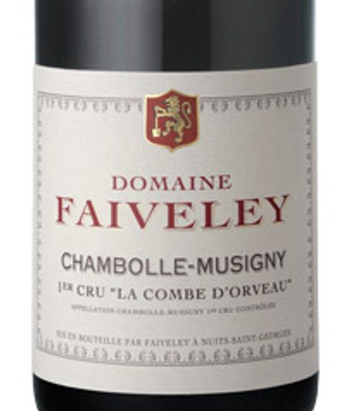 Faiveley Chambolle-Musigny 1er cru Combe d'Orveaux 2017