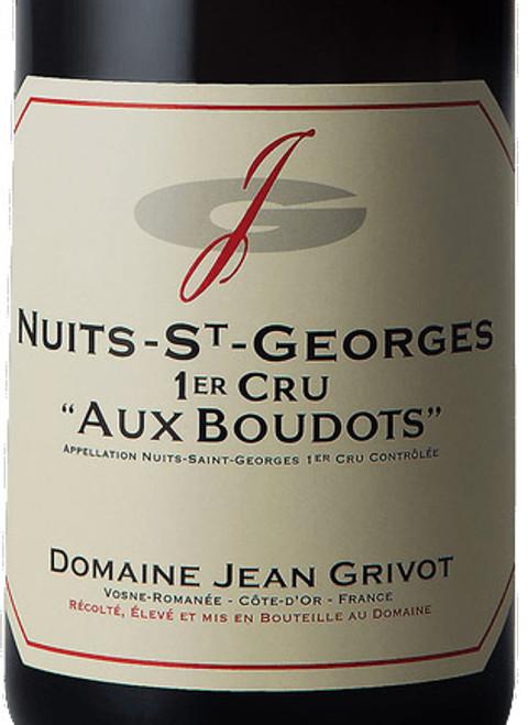 Grivot Nuits-St-Georges 1er cru Les Boudots 2017