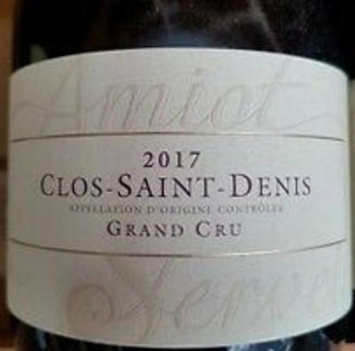 Amiot-Servelle Clos St-Denis 2017