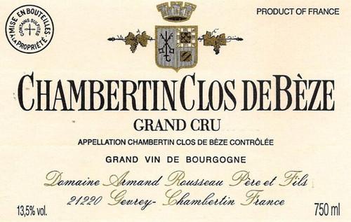 Rousseau Chambertin-Clos de Bèze 2017