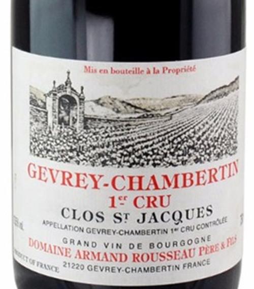 Rousseau Gevrey-Chambertin 1er cru Clos St. Jacques 2017