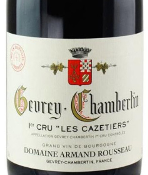 Rousseau Gevrey-Chambertin 1er cru Les Cazetiers 2017