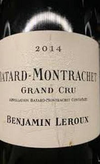 Leroux/Benjamin Bâtard-Montrachet 2014