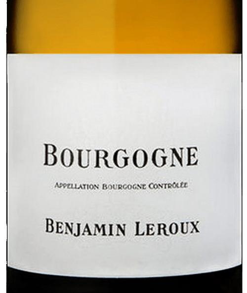 Leroux/Benjamin Bourgogne Blanc 2017