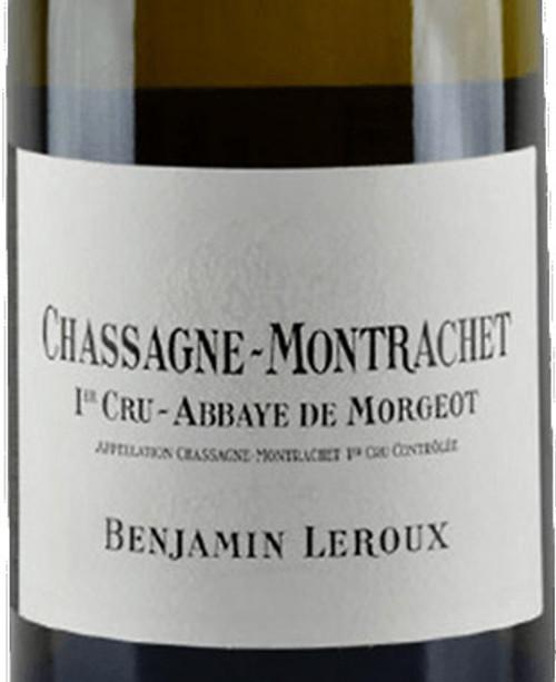 Leroux/Benjamin Chassagne-Montrachet 1er cru Abbaye de Morgeot 2017