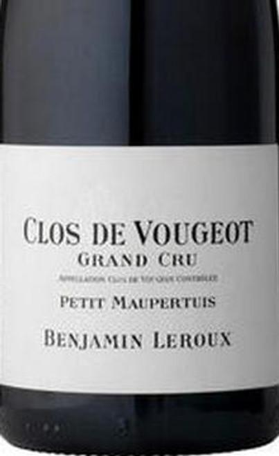 Leroux/Benjamin Clos de Vougeot Petit Maupertuis 2017