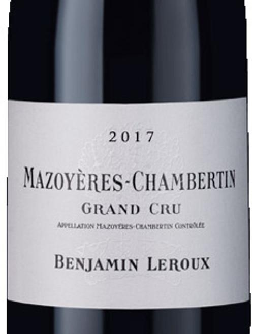 Leroux/Benjamin Mazoyères-Chambertin 2017