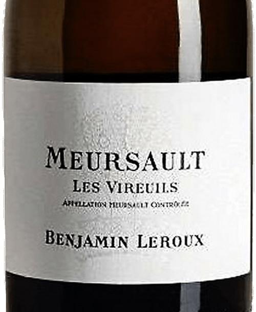 Leroux/Benjamin Meursault Vireuils 2017