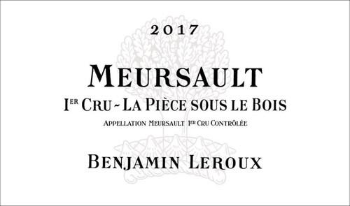 Leroux/Benjamin Meursault 1er cru La Pièce sous le Bois 2017