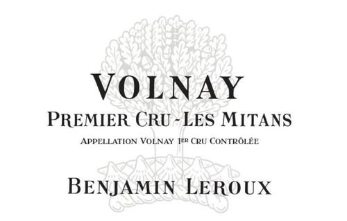 Leroux/Benjamin Volnay 1er cru Les Mitans 2017