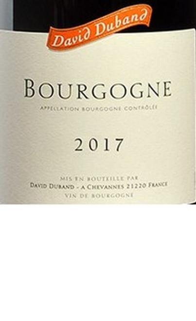 Duband/David Bourgogne 2017