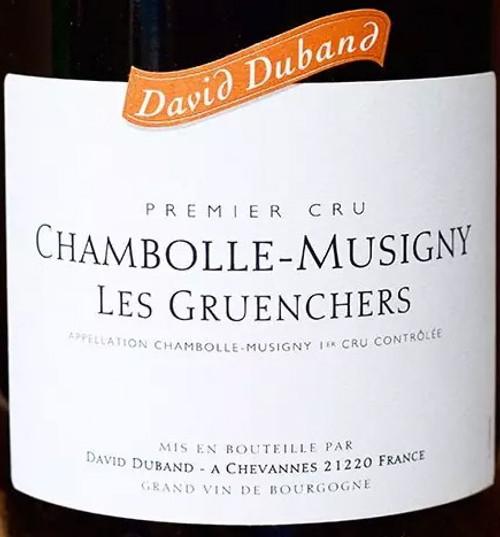 Duband/David Chambolle-Musigny 1er cru Les Gruenchers 2017