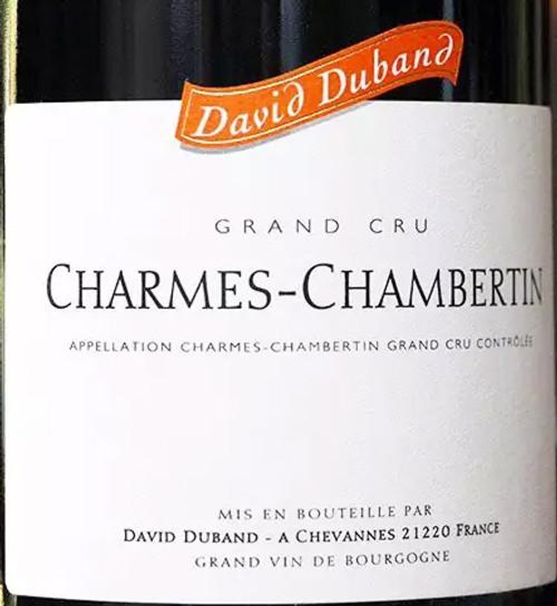 Duband/David Charmes-Chambertin Vieilles Vignes 2017
