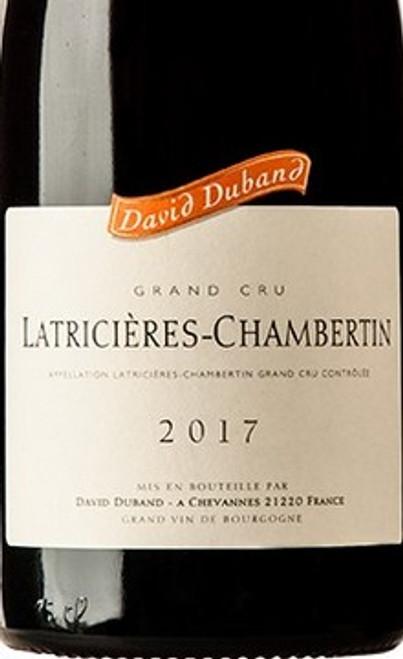 Duband/David Latricières-Chambertin 2017