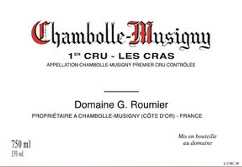 Roumier Chambolle-Musigny 1er cru Les Cras 2017