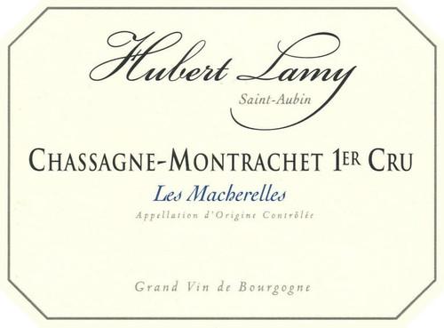 Lamy/Hubert Chassagne-Montrachet 1er cru Les Macherelles 2017