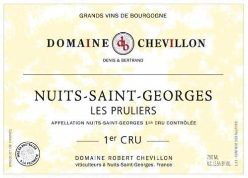 Chevillon Nuits-St-Georges 1er cru Les Pruliers 2017