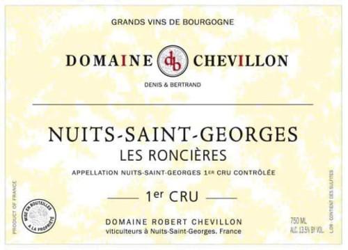 Chevillon Nuits-St-Georges 1er cru Les Roncières 2017
