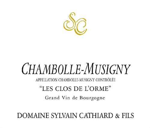 Cathiard Chambolle-Musigny Clos de l'Orme 2017
