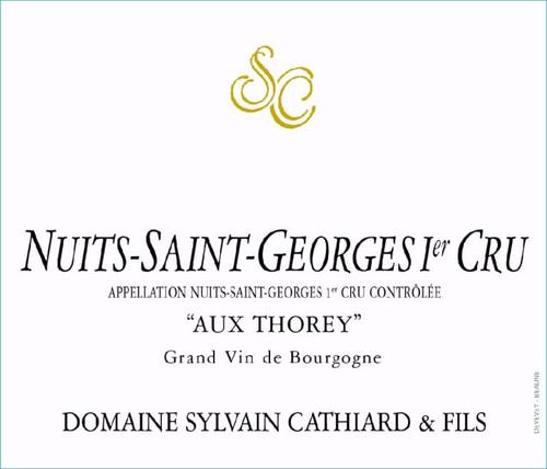 Cathiard Nuits-St-Georges 1er cru Aux Thorey 2017