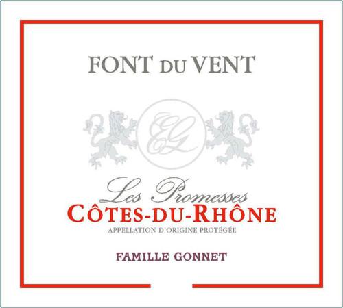 Font du Vent (Gonnet) Côtes-du-Rhône Les Promesses 2018