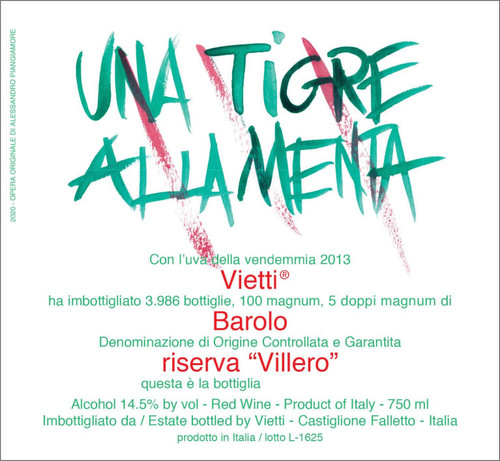 Vietti Barolo Villero Riserva 2013