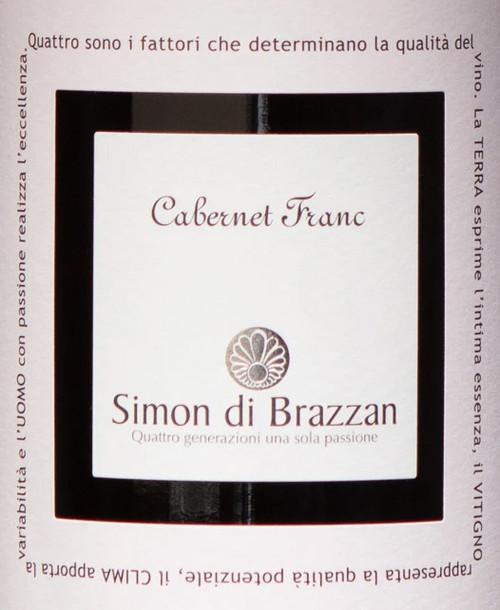 Simon di Brazzan Venezia Giulia Cabernet Franc 2016