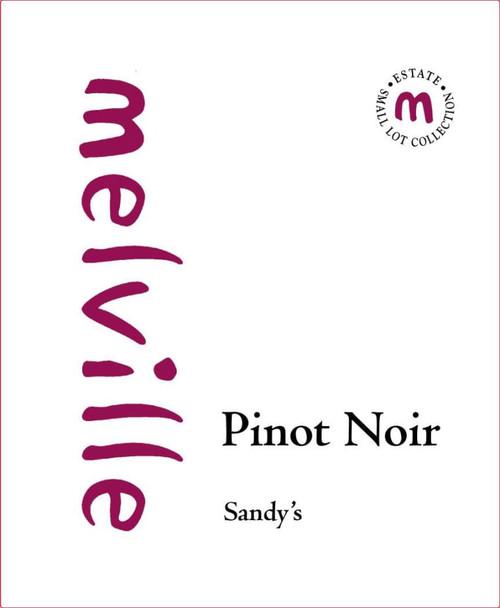 Melville Pinot Noir Sta. Rita Hills Sandy's 2018