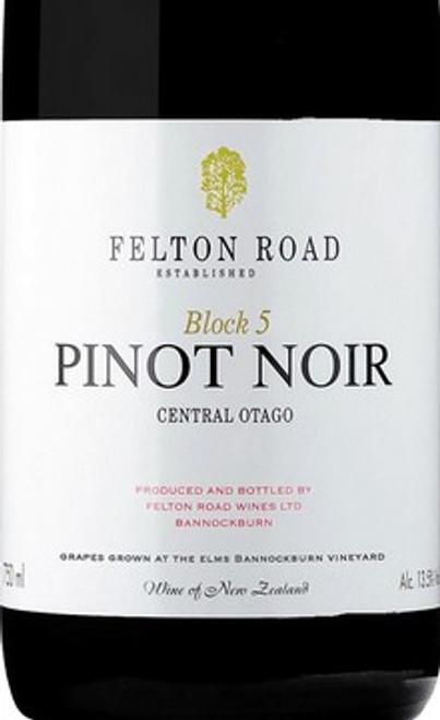 Felton Road Pinot Noir Central Otago Block 5 2018