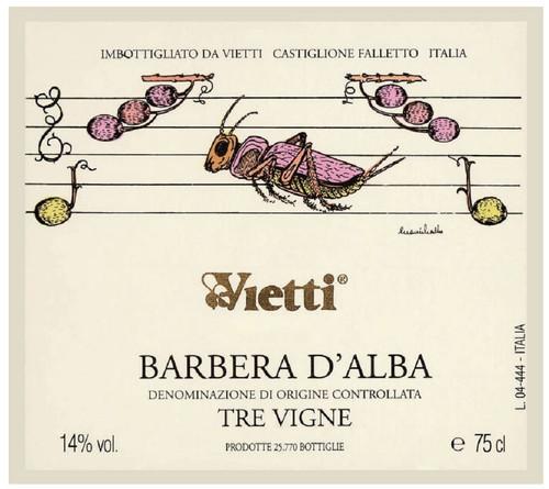 Vietti Barbera d'Alba Tre Vigne 2018
