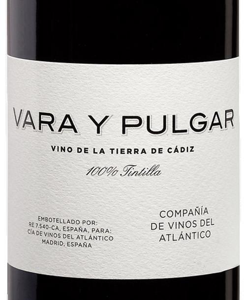Vara y Pulgar Tintilla Vino de la Tierra de Cadiz 2015