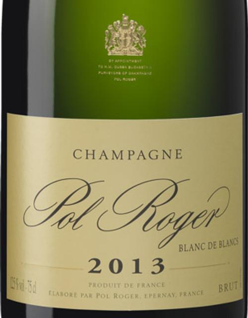 Pol Roger Brut Blanc de Blancs Champagne 2013