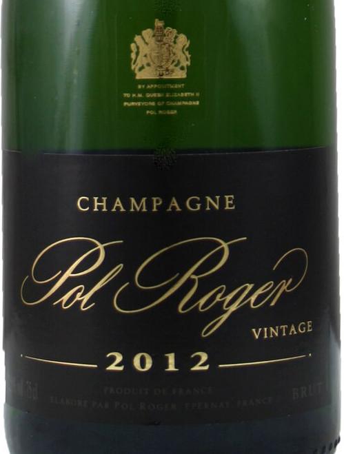 Pol Roger Brut Champagne 2012