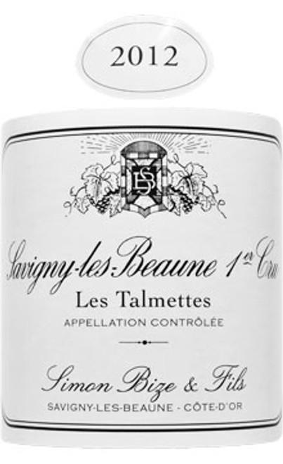 Bize Savigny-lès-Beaune 1er cru Talmettes 2012