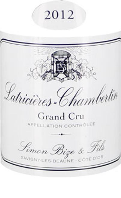 Bize Latricières-Chambertin 2012