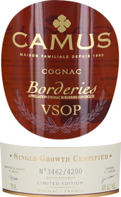 Camus Limited Edition Borderies VSOP Cognac
