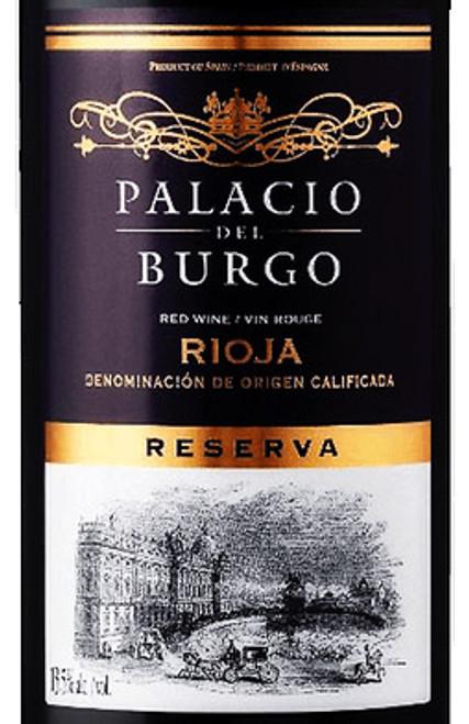 Palacio del Burgo Rioja Reserva 2014