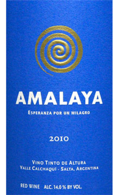 Amalaya (Colomé) Vino Tinto de Altura Calchaquí Valley 2010 1.5L