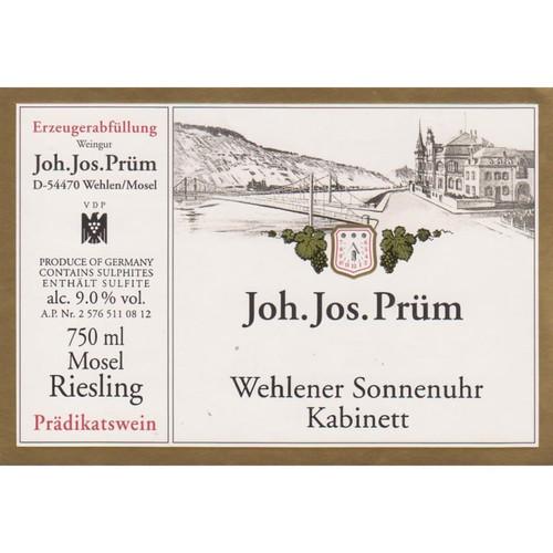 Prüm/JJ Riesling Kabinett Wehlener Sonnenuhr 2019