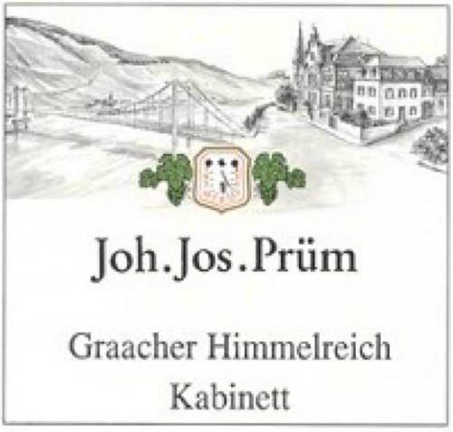 Prüm/JJ Riesling Kabinett Graacher Himmelreich 2018 1.5L