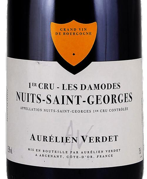 Verdet/Aurélien Nuits-St-Georges 1er cru Aux Damodes 2018