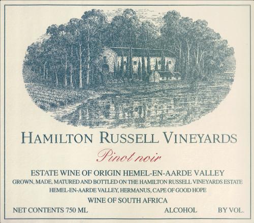 Hamilton Russell Pinot Noir Hemel-en-Aarde Valley 2019