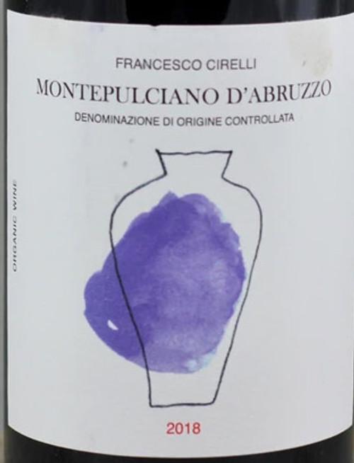 Cirelli/Francesco Montepulciano d'Abruzzo Anfora 2018