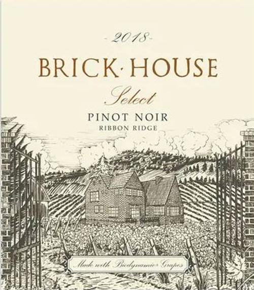 Brick House Pinot Noir Ribbon Ridge Select 2018