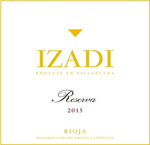 Izadi Rioja Reserva 2015