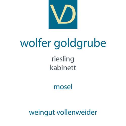 Vollenweider Riesling Kabinett Wolfer Goldgrube 2018