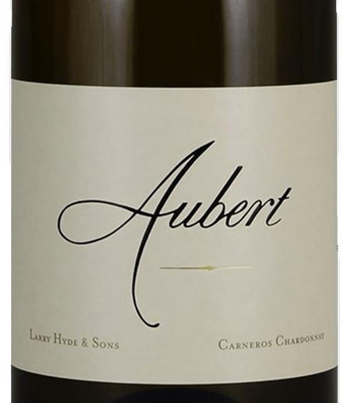 Aubert Chardonnay Carneros Larry Hyde & Sons 2019