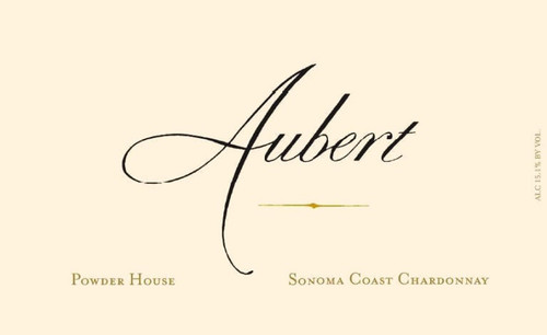 Aubert Chardonnay Napa Valley Powder House Estate 2019