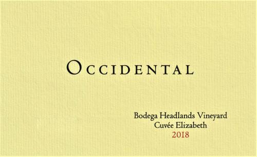 Occidental Pinot Noir Bodega Headlands Cuveé Elizabeth 2018